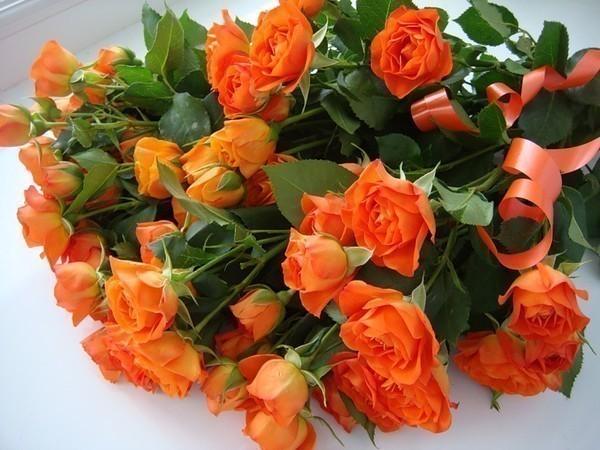 букет чайных роз (600x450, 85Kb)