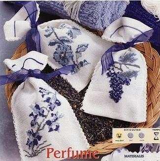 Мешочки для саше вышивка