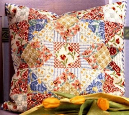 Patchwork Pillow (437x390, 46Kb)