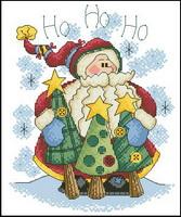 Dimensions 00315 Merry greetings - Ho ho ho (167x200, 21Kb)