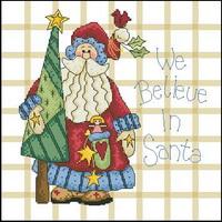 Dimensions 00315 Merry greetings - We believe in santa (200x200, 23Kb)