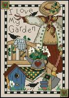 Dimensions 06778 Love My Garden (141x200, 21Kb)