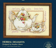Dimensions 16604 Herbal Delights (231x200, 23Kb)