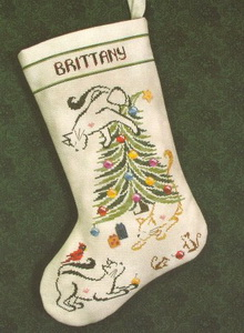 BrittercupDesigns BC009 Kitty Stocking (220x300, 32Kb)