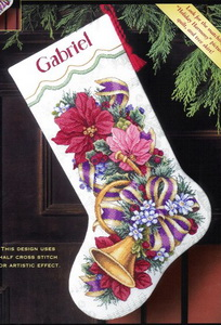 Dim08713 Holiday Harmony Stocking (204x300, 36Kb)