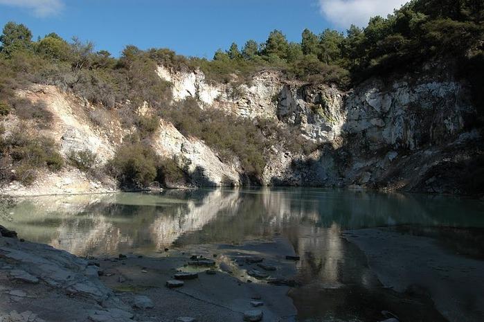 """Священные Воды, или """"Wai-O-Tapu"""" в Новой Зеландии. 59383"""
