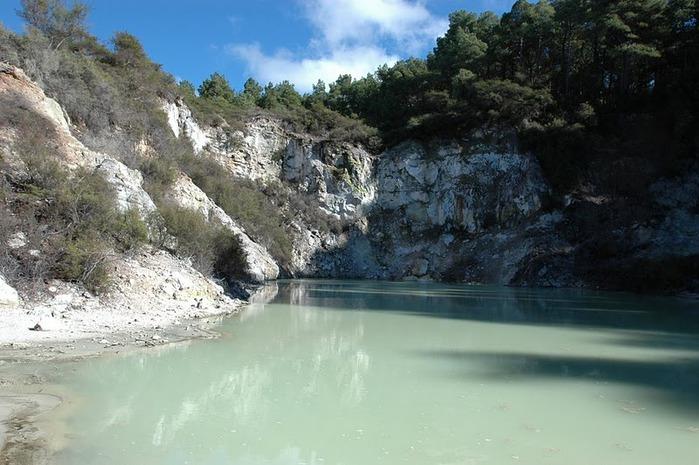 """Священные Воды, или """"Wai-O-Tapu"""" в Новой Зеландии. 46966"""