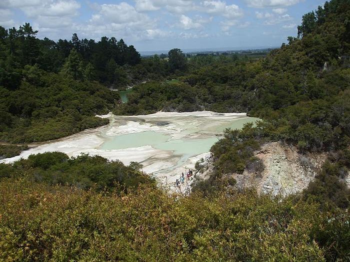 """Священные Воды, или """"Wai-O-Tapu"""" в Новой Зеландии. 78014"""