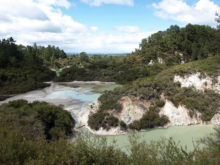 """Священные Воды, или """"Wai-O-Tapu"""" в Новой Зеландии. 73171"""