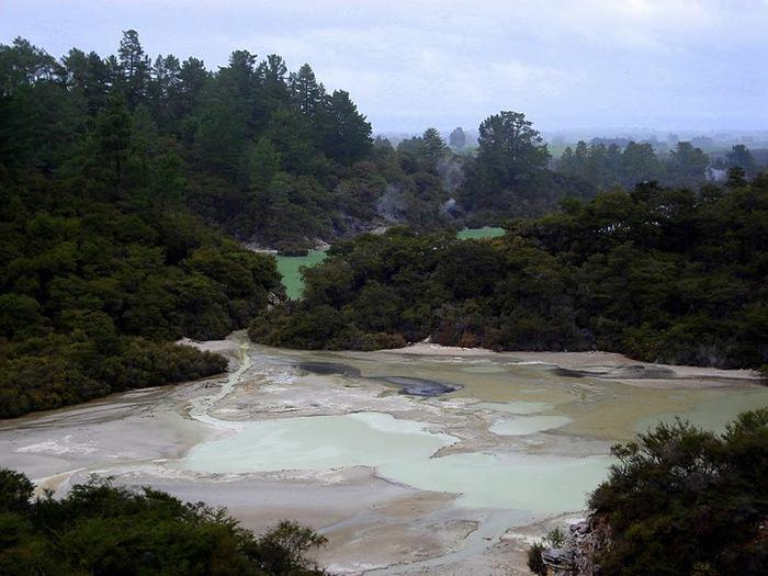 """Священные Воды, или """"Wai-O-Tapu"""" в Новой Зеландии. 69198"""