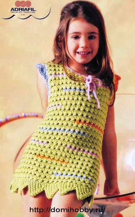 вязаное-платье-для-девочки1 (436x700, 67Kb)