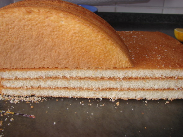 Как сделать правильно бисквит и крем