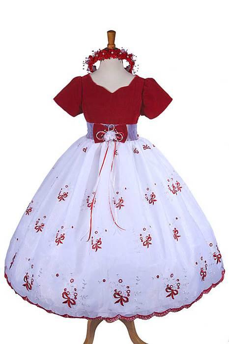 Как сшить бальное платье для девочек своими руками
