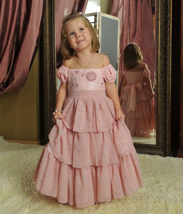 Платья для маленьких принцесс.  Прочитать целикомВ.