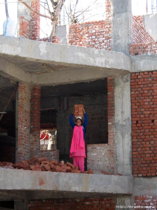Индия, Кедровая роща, девушка с кирпичами, Shraddha (1) (525x700, 242Kb)