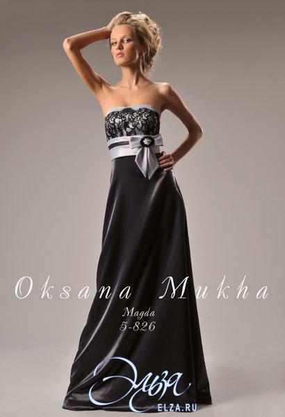 Вечерние платья от оксаны мухи 2010