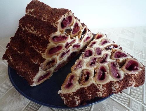 торт перамида рецепт