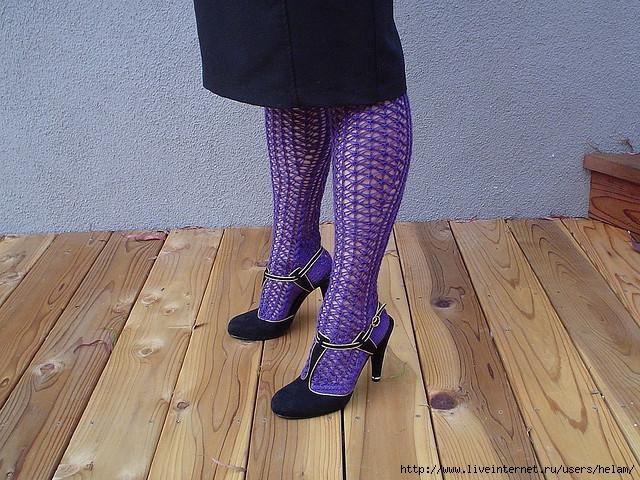 Курс по вязанию носков. вязаные носки ажурные схемы.