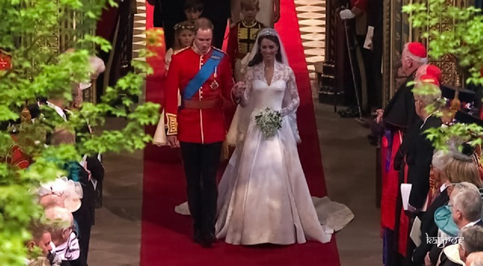 Royal Wedding - Kate Middleton and Prince William 38