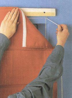 Сделать карниз для римских штор своими руками