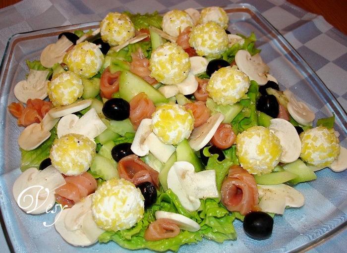 Холодные закуски и салаты с рецептами и
