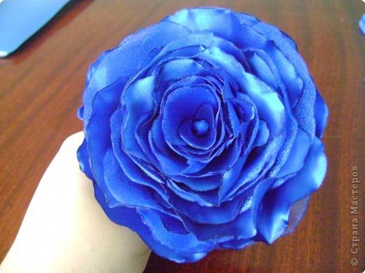 Мастер класс роза из ткани.