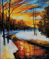 WINTER SUNSET (165x200, 23Kb)