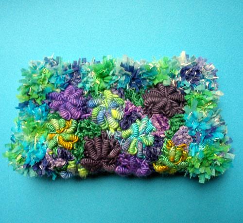欣赏:用爱尔兰花边技术编织的包袋 - maomao - 我随心动