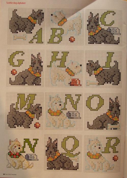 схемы вышивки вязание