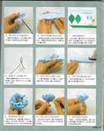 Учимся делать цветы из ткани.  Прочитать целикомВ.