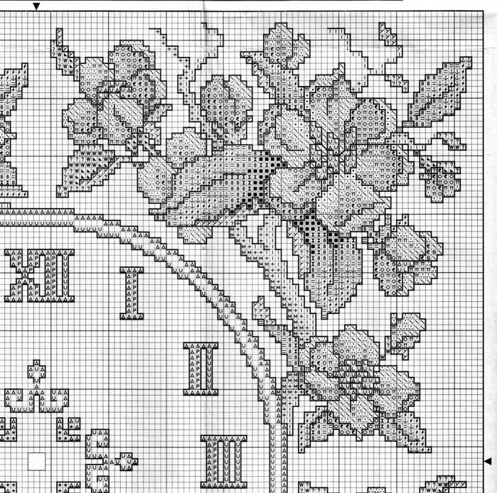 07 - Reloj Flores Rosas 03 (700x694, 250Kb)