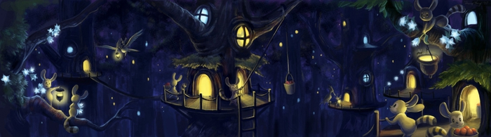 2454993_Treehouse_Village_by_aragornbird (700x195, 112Kb)