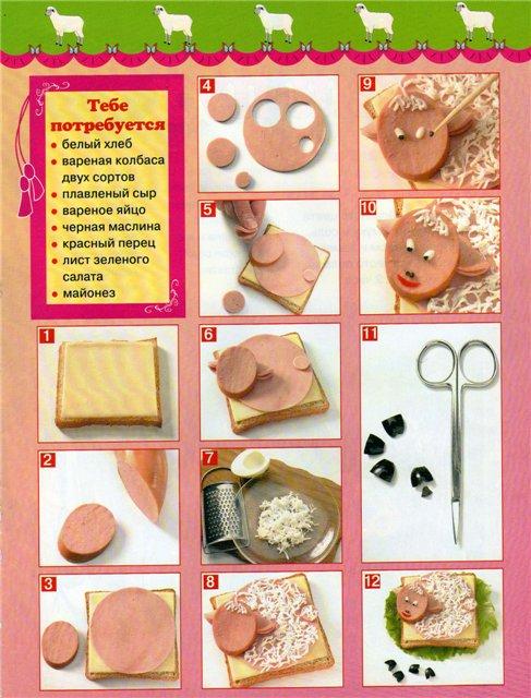 Простые рецепты для детей своими руками 5