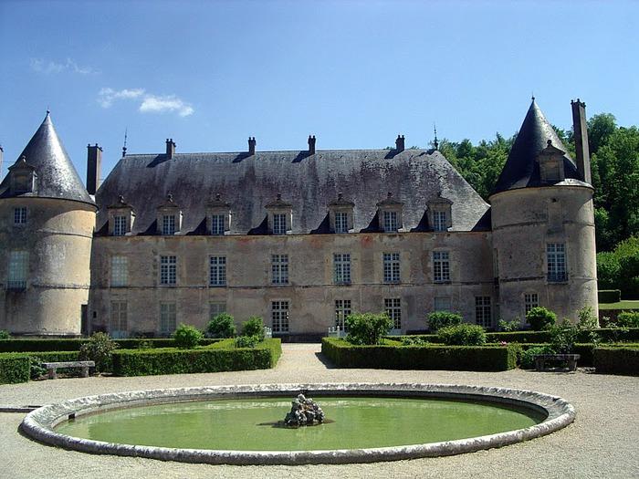 Замок Бюсси-Рабютен - Шато де Бюсси-ле-Гран 53615