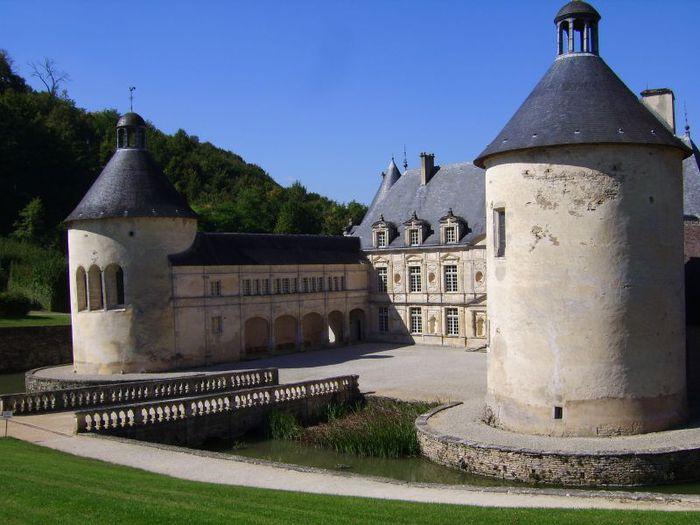 Замок Бюсси-Рабютен - Шато де Бюсси-ле-Гран 70561