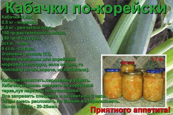 Самые простые рецепты заготовок из кабачков на зиму