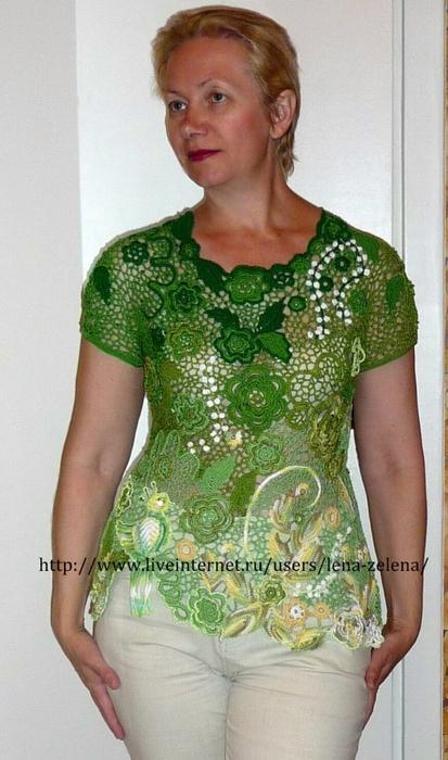 爱尔兰拼花衣(423) - 柳芯飘雪 - 柳芯飘雪的博客