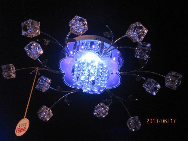 Галогеновые люстры