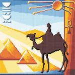 """Набор для вышивания  """"Египет """" * Техника: счетный крест * Артикул: Ф-0148 * Размер: 21,5 х 21,5 см * Размер в крестиках..."""