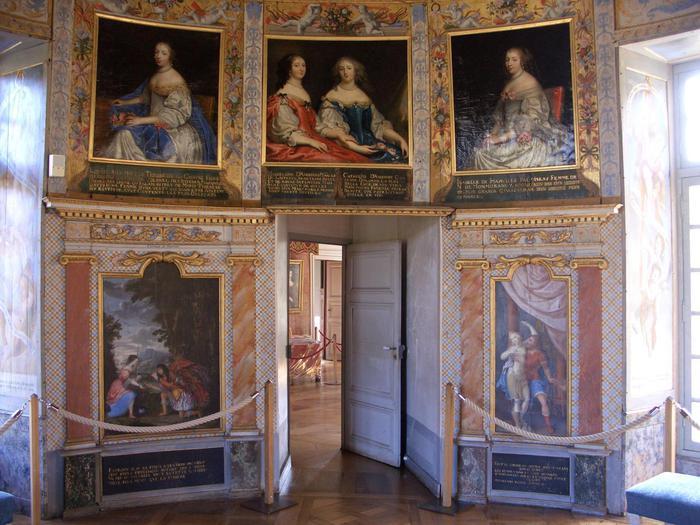 Замок Бюсси-Рабютен - Шато де Бюсси-ле-Гран 91988
