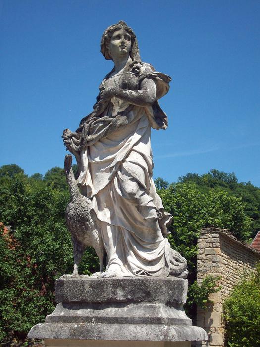 Замок Бюсси-Рабютен - Шато де Бюсси-ле-Гран 80325