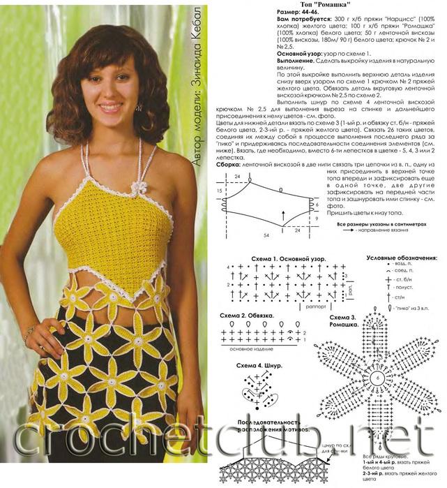 Летние модели крючком для женщин Лариса Левченко Фотографии и советы