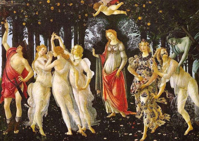 botticelli-primavera (700x496, 216Kb)
