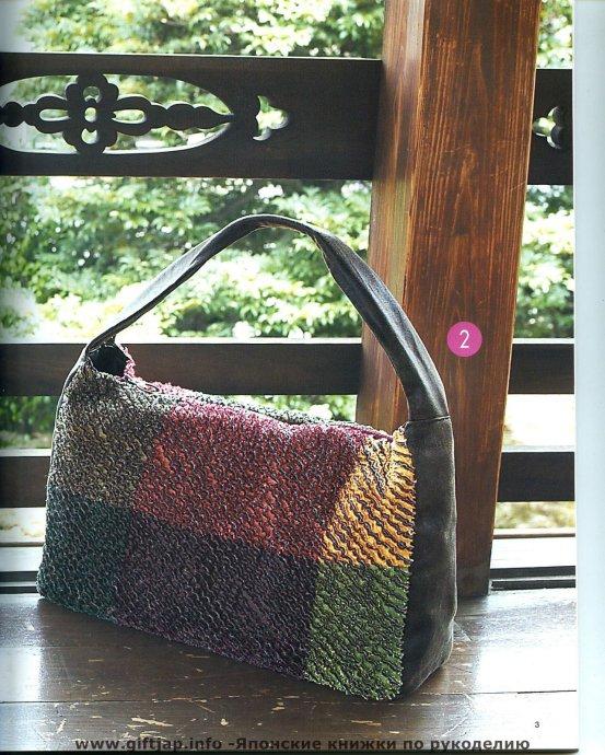 """Много сумок в технике  """"синель """".  Оригами из ткани.  Лоскутное..."""
