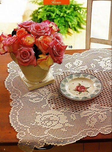 gift ideas for mothers: roses patterns for home and parties
