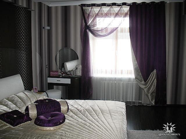 Шторы для спальни шить