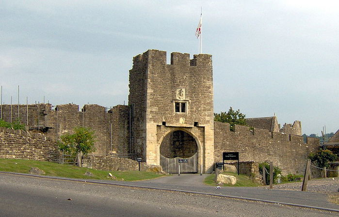 Замок Фарлейг Хангерфорд - Farleigh Hungerford Castle 57681