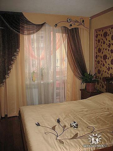 Как сшить красиво шторы в спальню