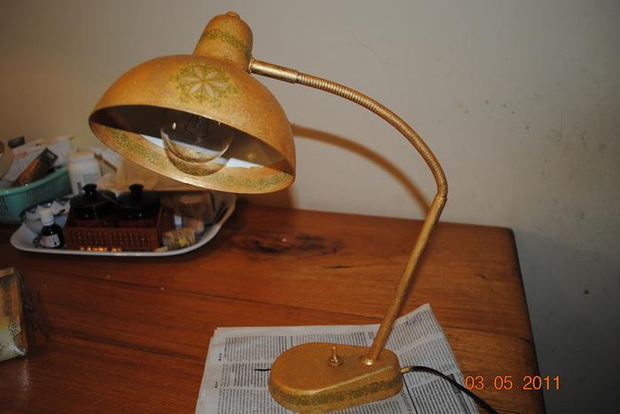 Переделать старый светильник своими руками 12