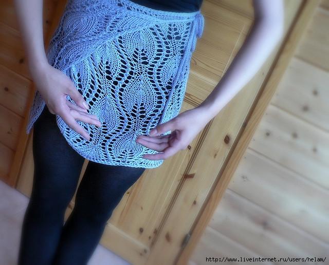 针织:s形曲线花边裙 - maomao - 我随心动